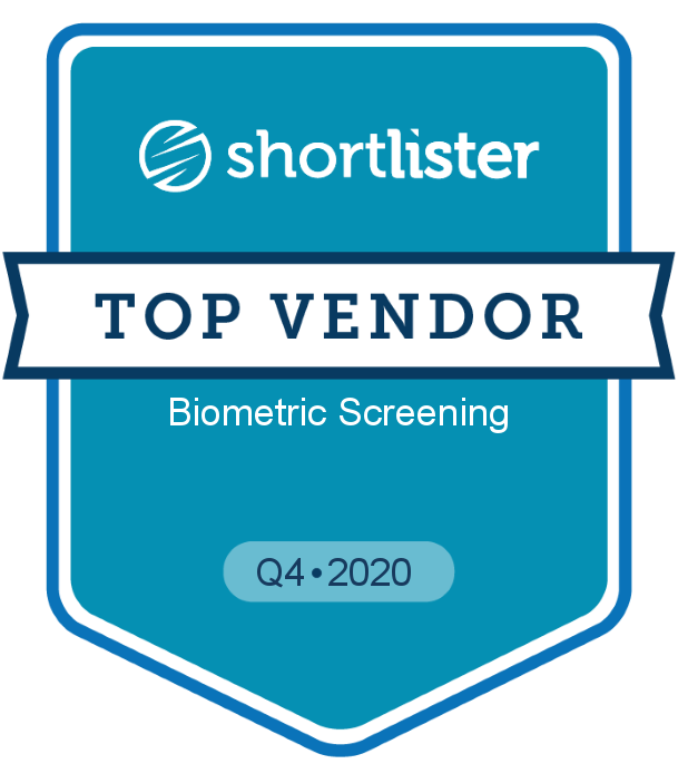 Shortlister | Top Vendor | Biometric Screening | Q4 2020